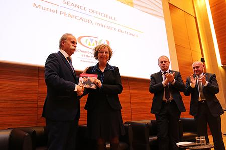 Muriel Pénicaud et Bernard Stalter